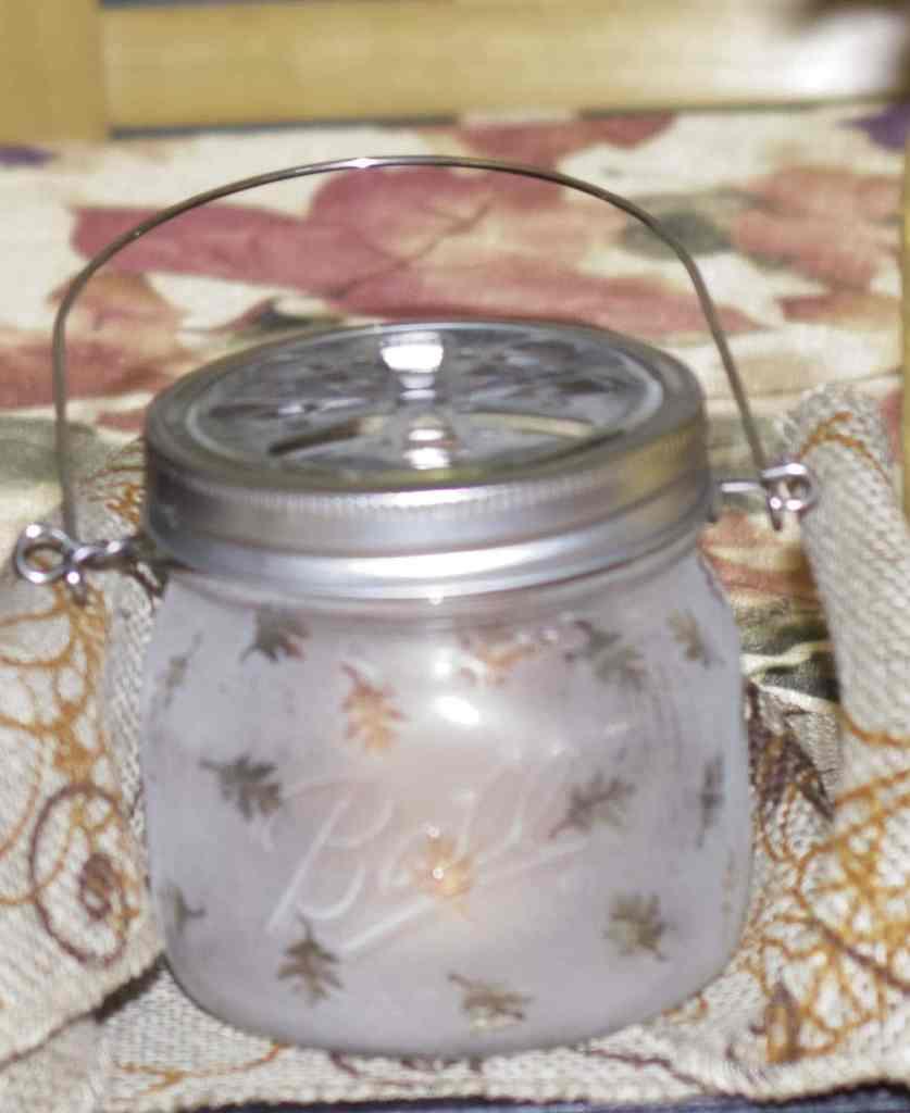 Final leaf, Create a Decorative Candle Holder