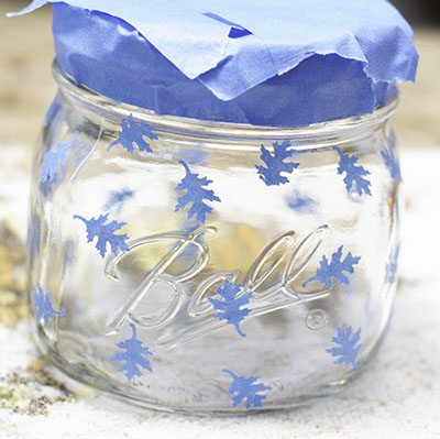 Leaves small, Create a Decorative Candle Holder