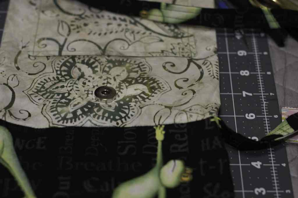 Sew the Strap and Lining to the Main Bag, Bumalong Bag Tutorial