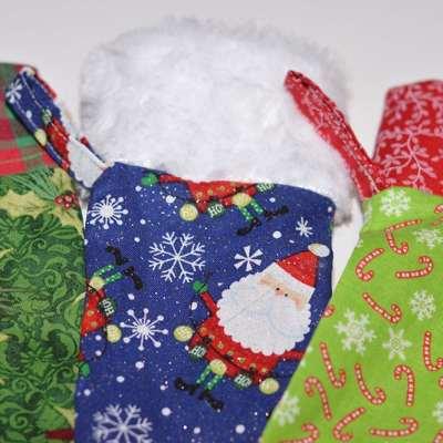 Easy to Sew Christmas Stockings