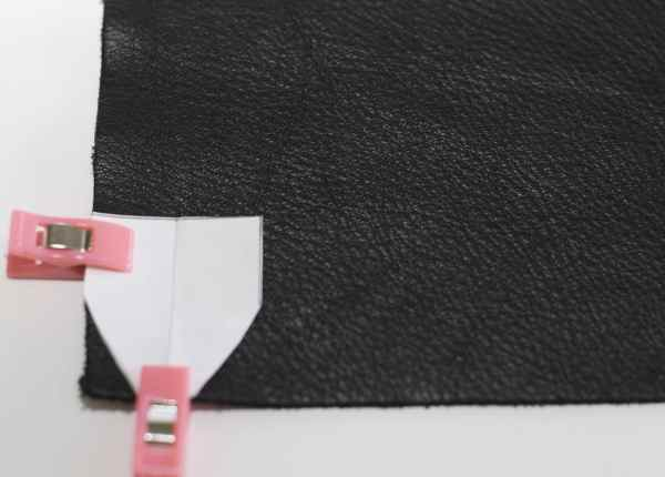 Cut 4 Leather Pieces Using Pattern, Easy DSLR Camera Strap