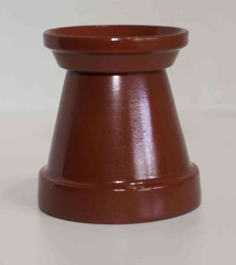 Glue-one-of-the-Small-saucers-to-the-bottom-of-the-Pot-913x1024 DIY Gumball Machine