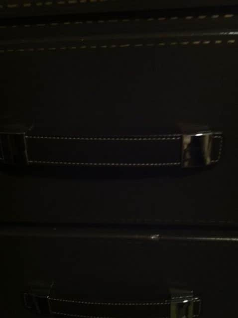 Up Close Handle, DIY Trunk Dresser Redo
