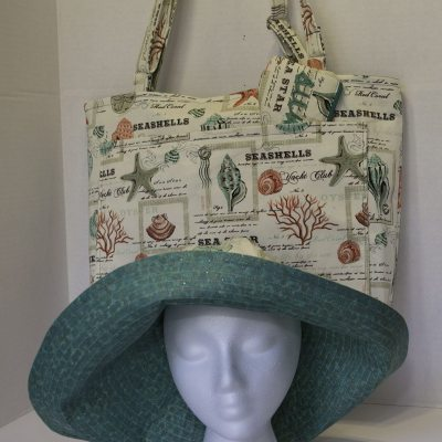 Sun Hat, Tote, Sunglasses Case: My Latest Etsy Project