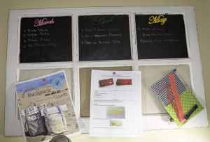 Bulletin Board, Sewing Room Organizing Hacks