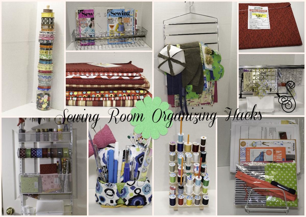 Sewing Room Organizing Hacks  Sew Very Crafty