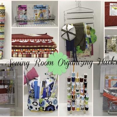 Sewing Room Organizing Hacks