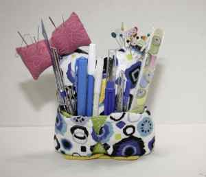 Filled Owl Caddy, Spring Organizing Secrets