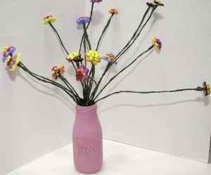 Button-Flowers-300x249 Springtime Button Bonanza