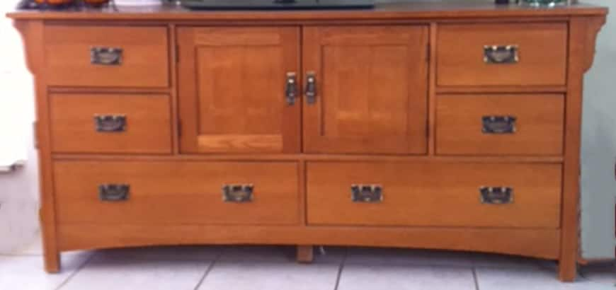Original-Cabinet Transform Dated Furniture Using Paint