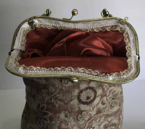 Open Purse with Lace, Victorian Romance