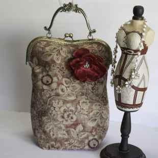 Victorian Romance Handbag, Victorian Romance