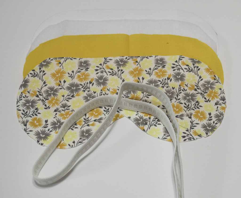 What you will Need - Eye Mask, Sew Crafty Travel