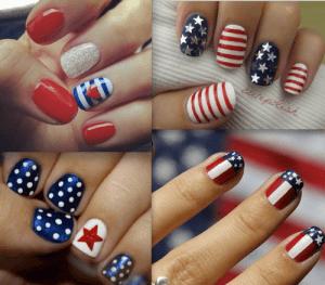 Nail Art, July 4th party
