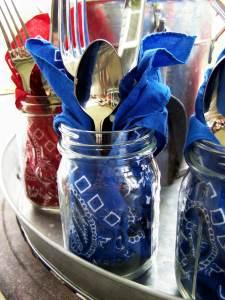 mason-jars-225x300 July 4th Party Fun