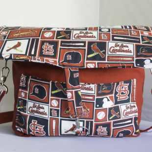 Cardinals Camera Bag, Sports Team DSLR Camera Bag