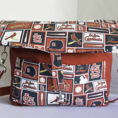 Cardinals Camera Bag, Sports Team DSLR Camera Bag