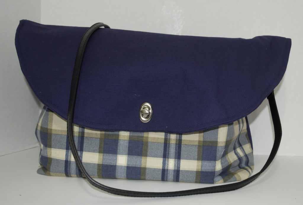 Finished Tartan Messenger Bag, Tartan Messenger Bag