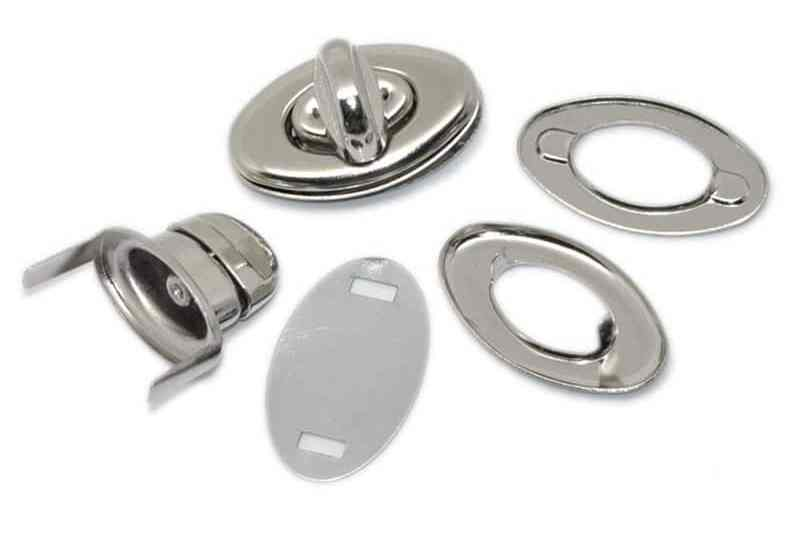 Purse Clasp Turn Lock, How to Add a Purse Clasp Turn Lock