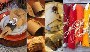 20 Napkin Rings, Thanksgiving around the web