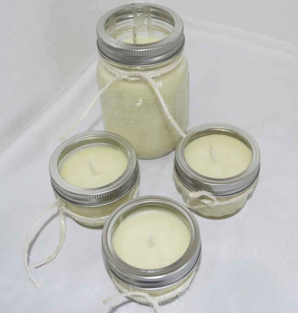 Clean Smelling Beeswax Candles