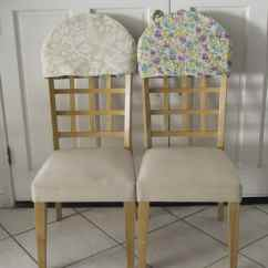 Cost Plus Chair Covers High Back Outdoor Cushion 2 Pack Reversible Padded Sew Very Crafty