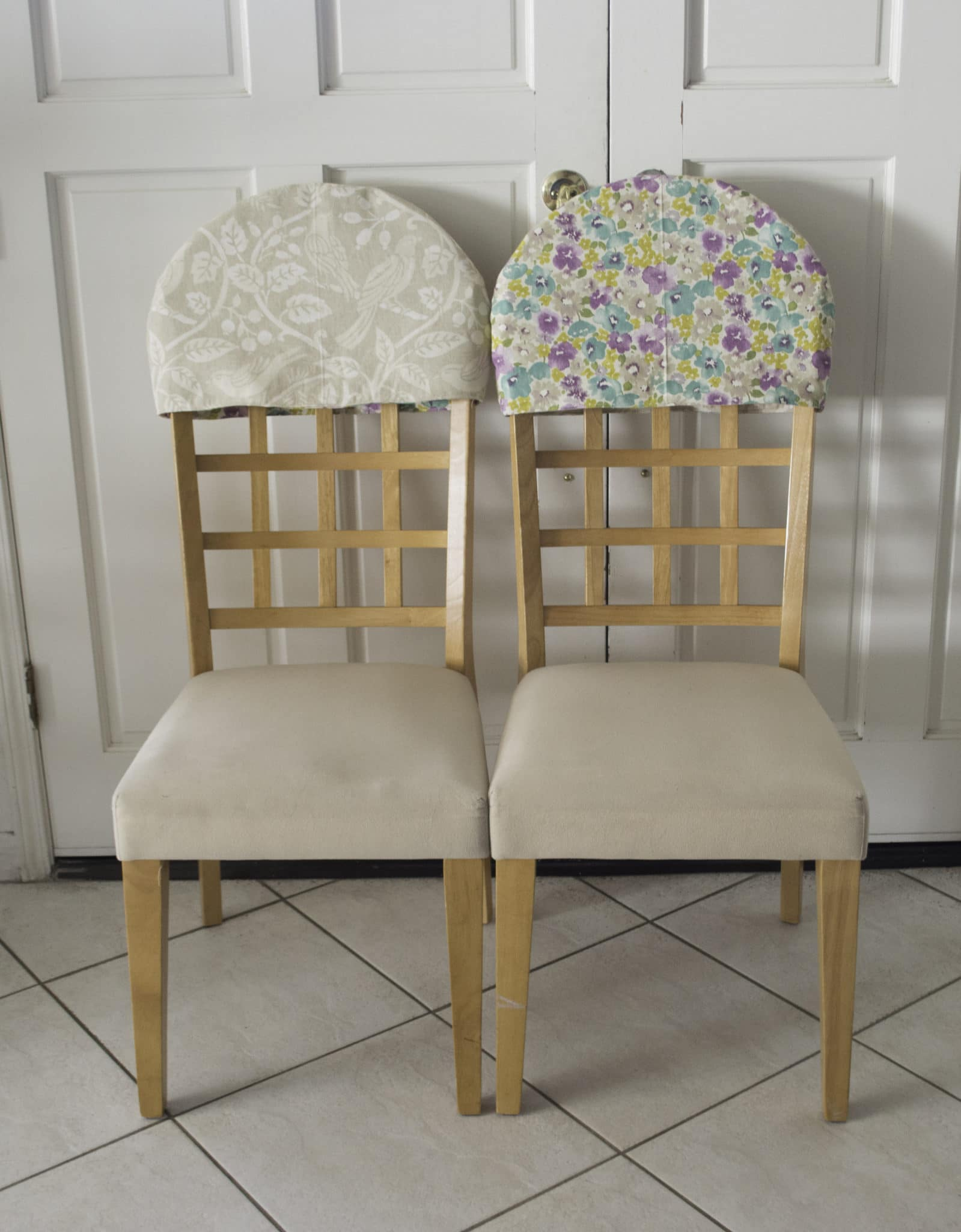 Chair Back Reversible Padded Chair Back Covers Sew Very Crafty