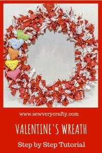 Make a Valentine's Wreath