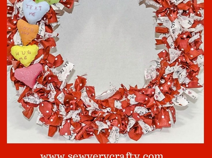 Make a Valentine's Wreath