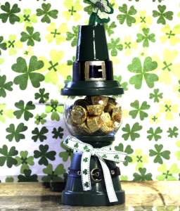 St.-Pats-Gumball-Machine-with-Candy-873x1024-256x300 How to make a St. Patrick's Day Gumball Machine