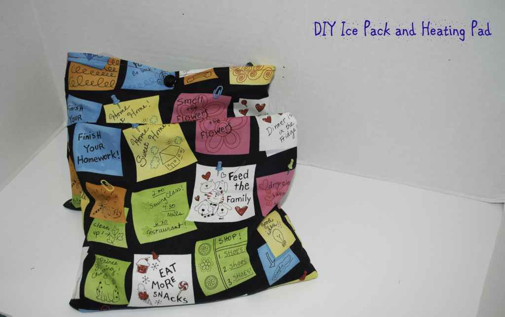 DIY Ice Pack and Heating Pad