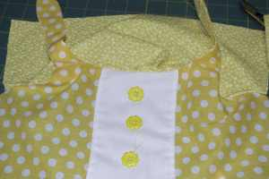 Open-the-Lining-from-the-Outer-Fabric-to-the-Sewing-Line-300x200 Easy to Make Adorable Toddler Dress