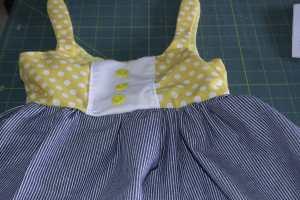 Easy to Make Adorable Toddler Dress