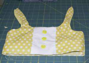 Turn-the-Bodice-Right-Sides-Out-300x213 Easy to Make Adorable Toddler Dress