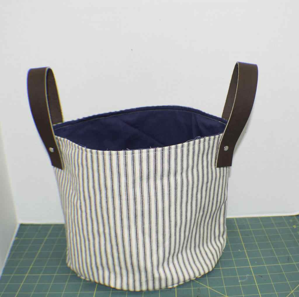 DIY Fabric Storage Bucket