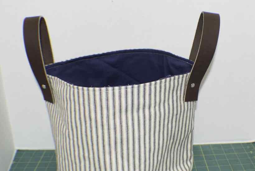 DIY Fabric Storage Bucket