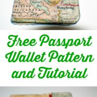 Free DIY Passport Wallet Pattern