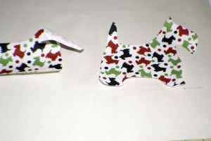 Line-up-the-Scotties-300x200 Christmas Applique Pillow