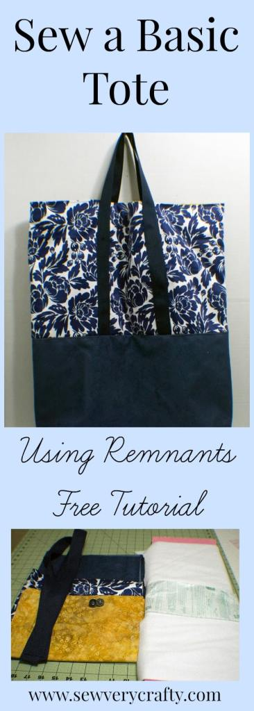 Tote-Tutorial-2-366x1024 Sew a Basic Tote Using Remnants