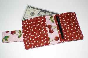 Finish-Open-Wallet-300x200 Free Bi Fold Wallet Tutorial