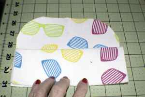 Folded-Case-300x200 How to Make an Easy DIY Glasses Case