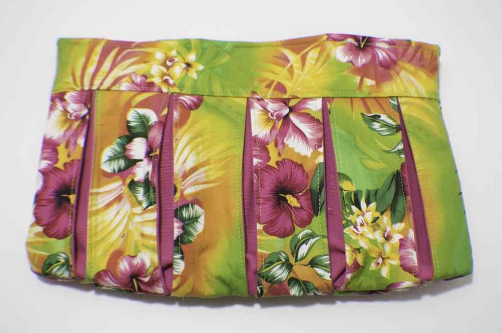 Pleated Clutch Handbag Tutorial