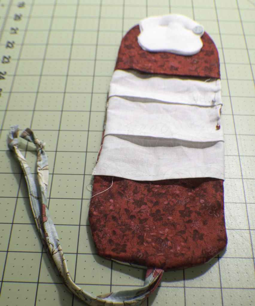 Turn-Right-Side-Out-and-Add-the-Needle-Patch-852x1024 How to Make a Travel Sewing Kit