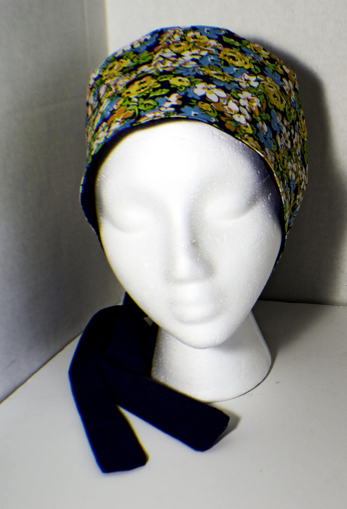 How to make a reversible chemo cap. Sew a reversible chemo hat.