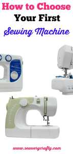 Learn to sew: How to choose your first sewing machine