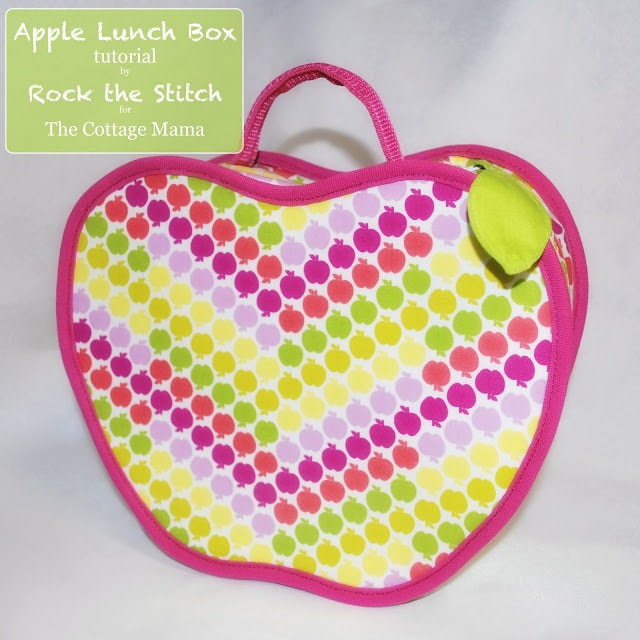 Apple-lunch-Box 10 Things to Sew for Back to School