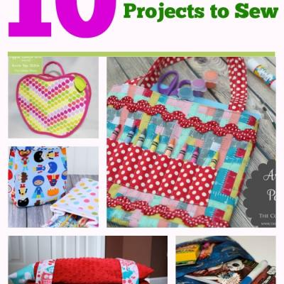 10 Things to Sew for Back to School