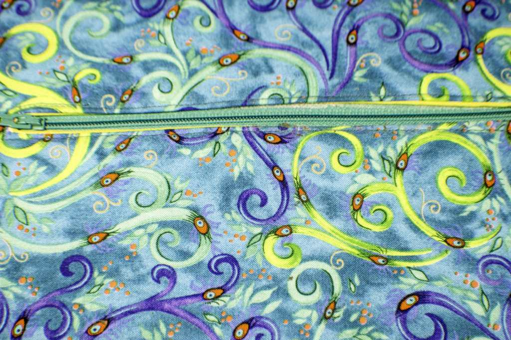 Sew-around-the-zipper-1024x681 How to Make a Tablet Carrying Case