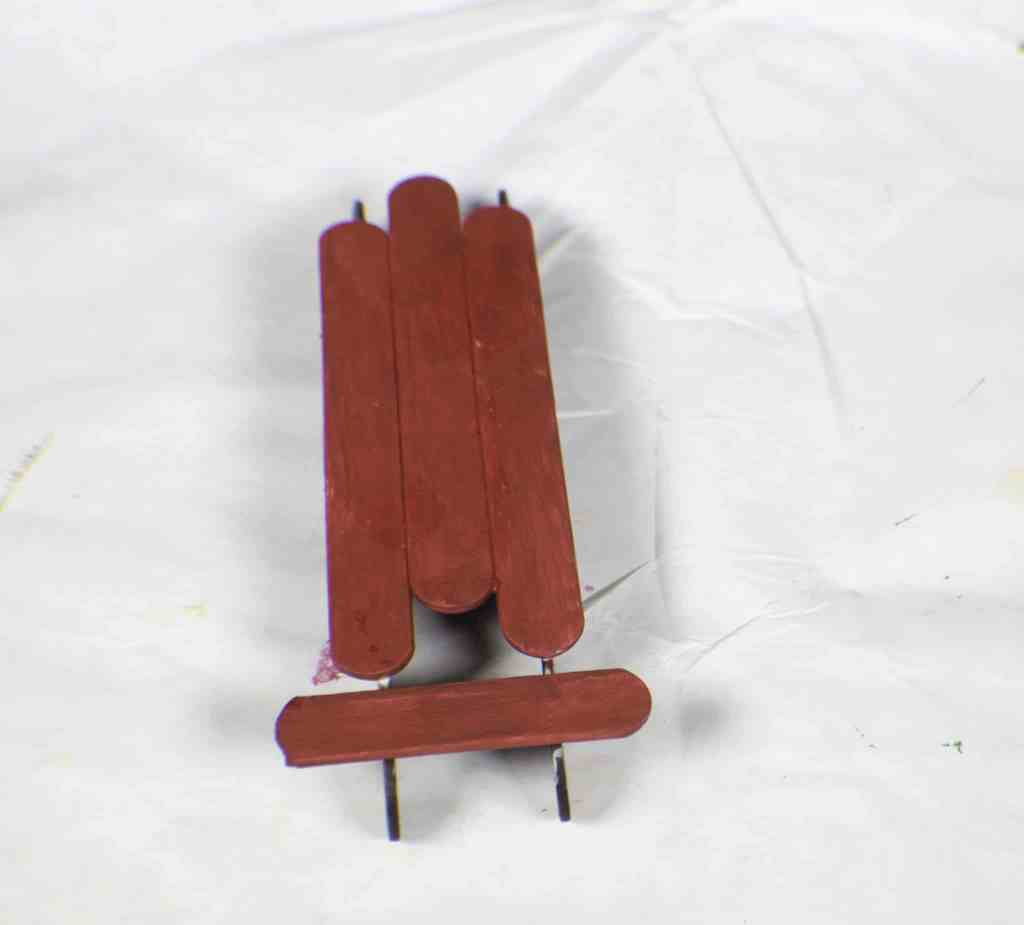 Add-the-Cross-Piece-1024x925 How to Make Popsicle Stick Sled Ornaments