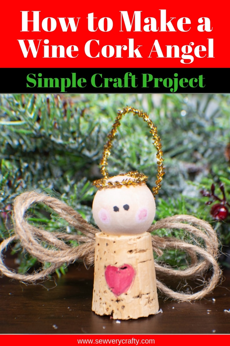 This is another really simple handmade Christmas ornament project. I just  love these little wine cork angels. They are so simple to make and are just  too ...